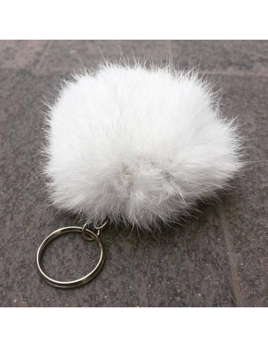 Tan Fur Keychain Ariana