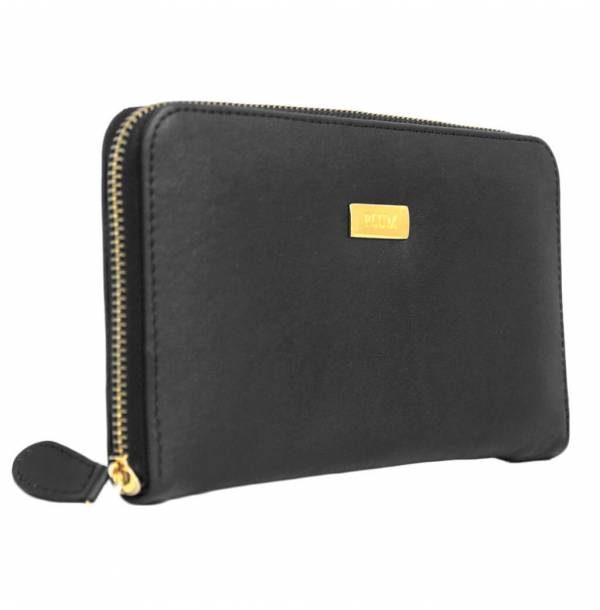 Black_Leather_Wallet-Francisca by Plum
