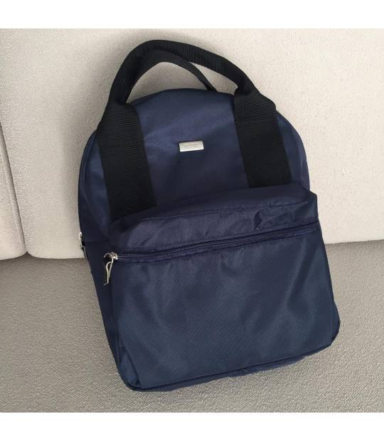Backpack Blue with Black Magna