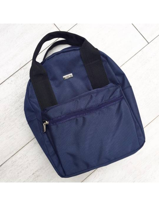 Black Backpack Magnga with black handles