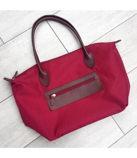 Dark Red Noa Handbag