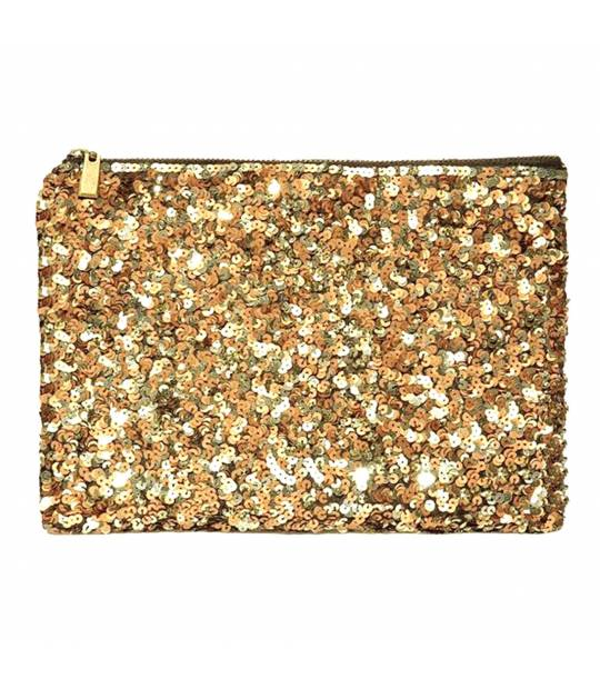 Carteras de mano - Clutch Dorado London