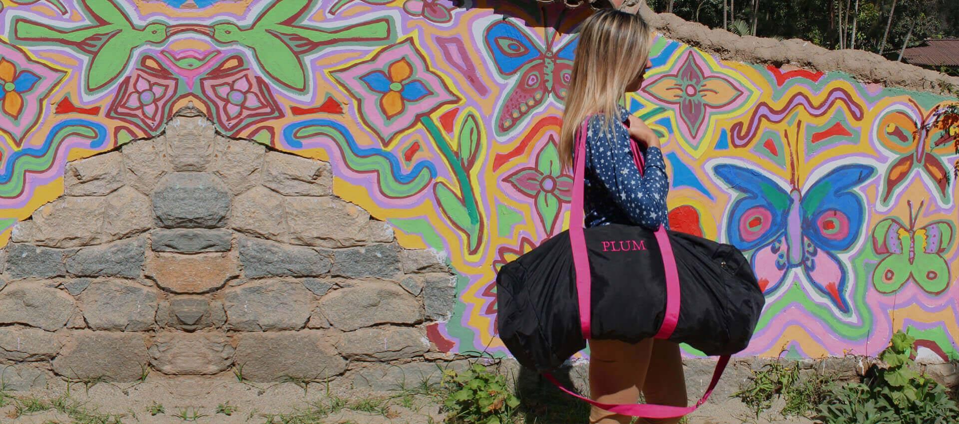Handbags-Leather_fashion_handbags-Duffle_handbags_weekend-Plum_handbags